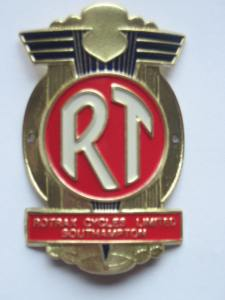 Rotrax Head Badge